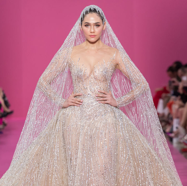Araya Hargate Closes The Georges Hobeika Haute Couture Autumn/Winter 2019 Show
