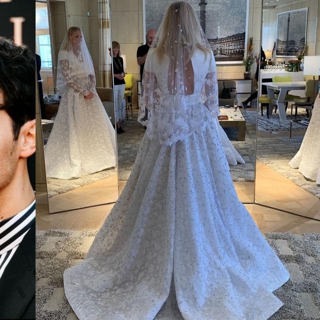 Sophie Turner's Wedding Dress Took Over 350 Hours To Make