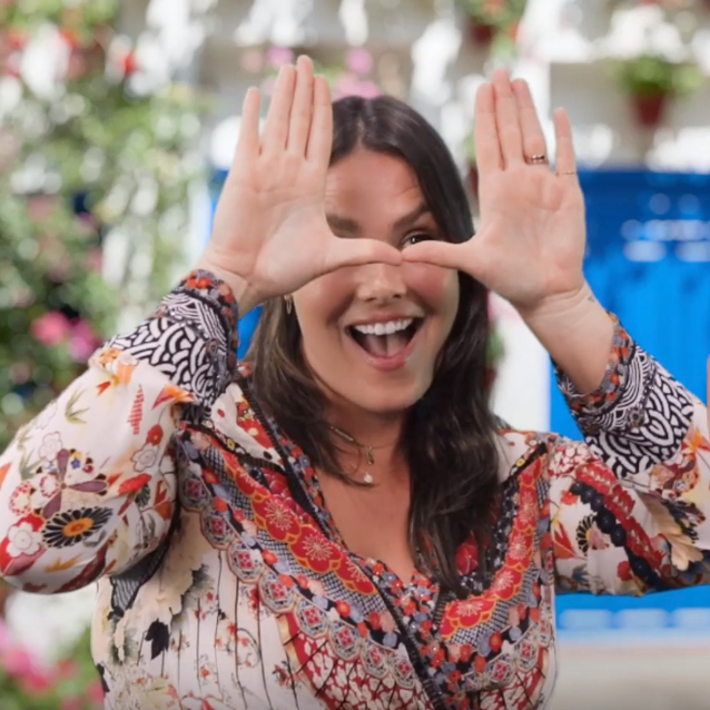 Watch | Famous Faces: Candice Huffine On Body Positivity, Learning Arabic And Instagram's Most Overused Word