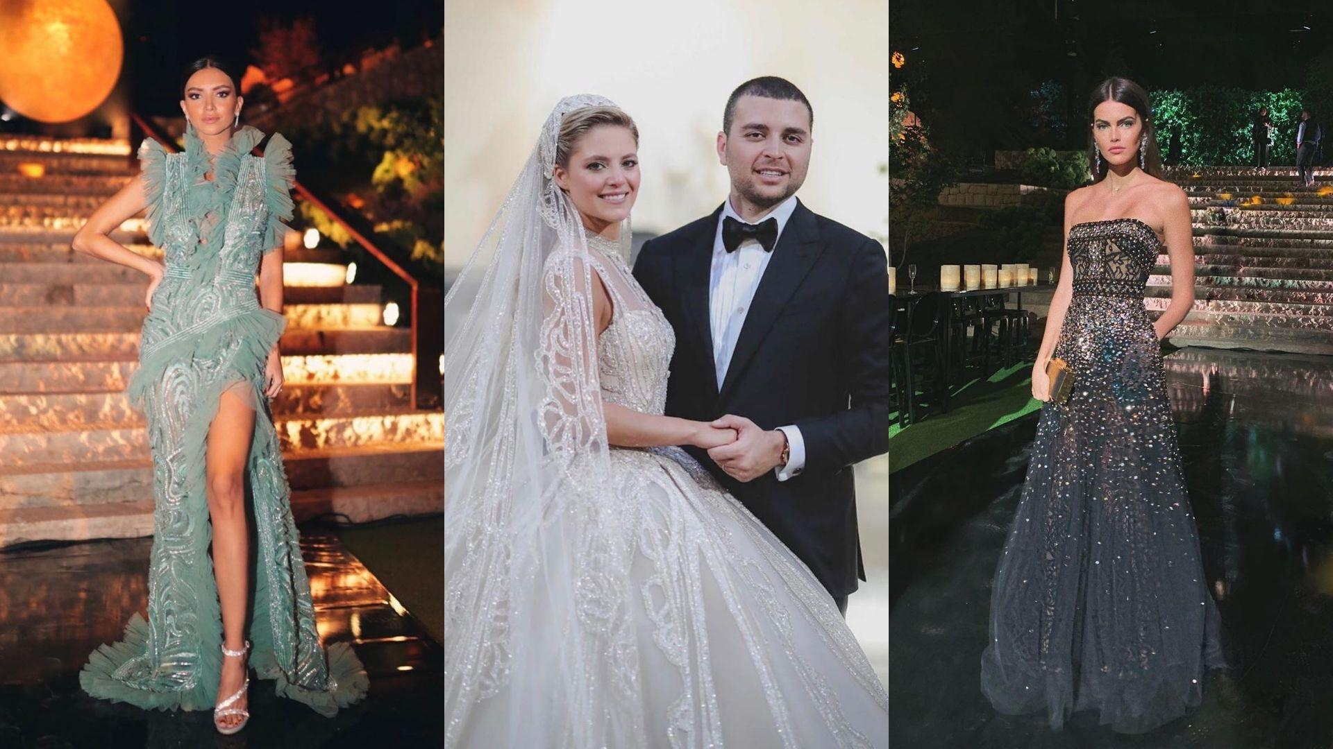 The Most Glamorous Guests At Elie Saab Jr And Christina Mourad