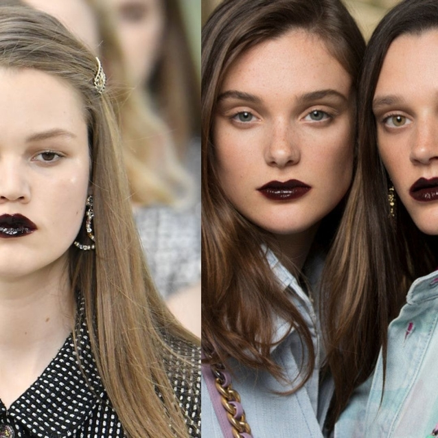 Chanel Is Here To Convince You To Wear Black Lips And Fingertips This Autumn
