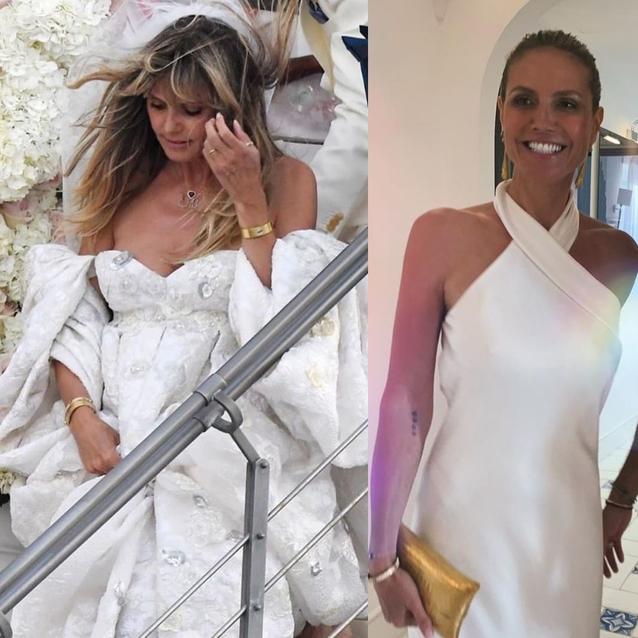 Heidi Klum Wore Not One But Three Wedding Dresses To Marry Tom Kaulitz