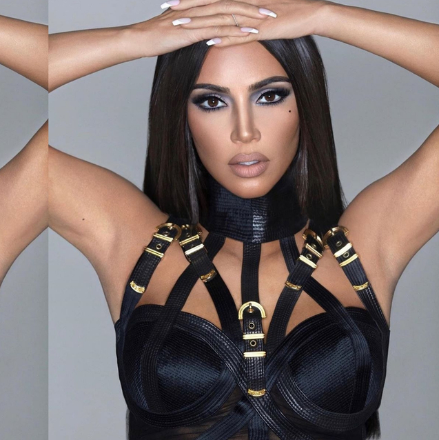 Kim Kardashian Launches A Sultry '90s-Inspired Make-Up Collection