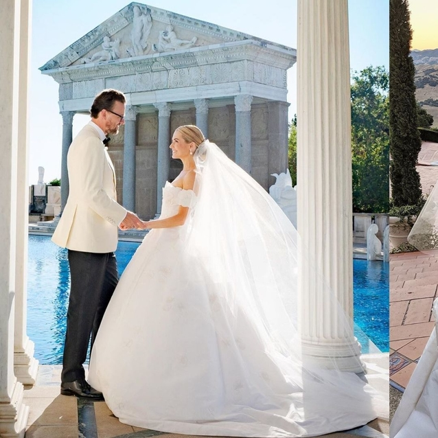 Heiress Amanda Hearst Wears Five Designer Gowns For Weekend-Long Wedding