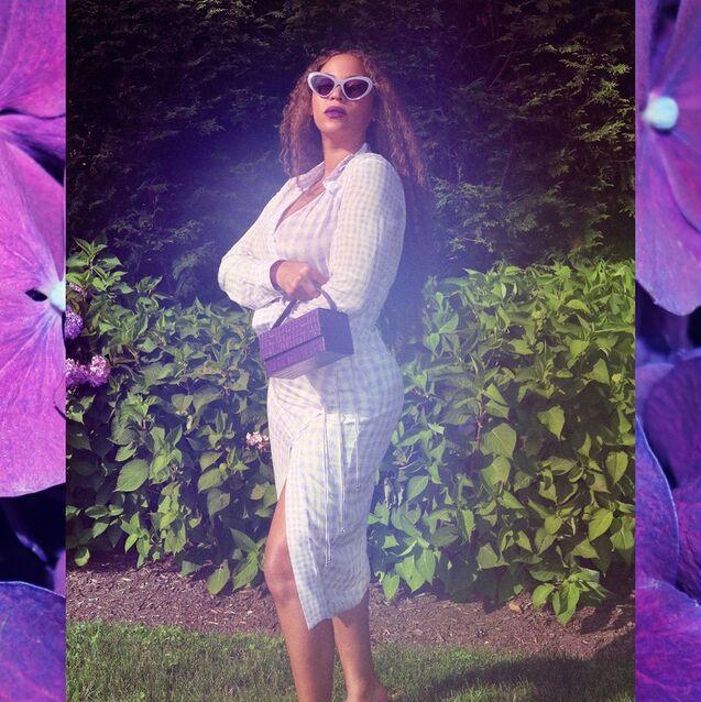Dubai-Based Designer L'Afshar Was 'In Awe' Of Beyoncé Wearing Her Label