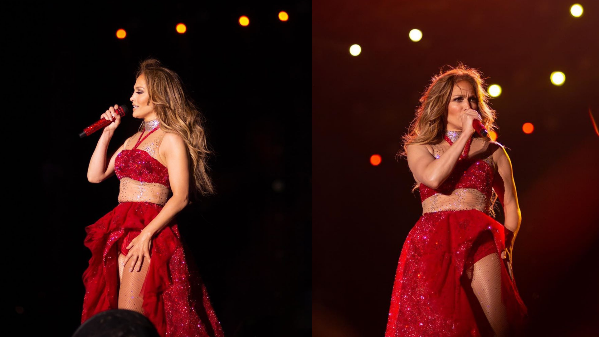 Jennifer Lopez Performed In Egypt For The First Time And Chose This Egyptian Designer For The Occasion Harper S Bazaar Arabia