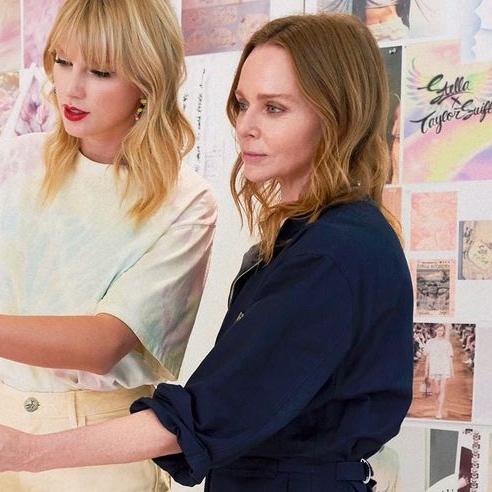 Stella McCartney Unveils Taylor Swift Collaboration