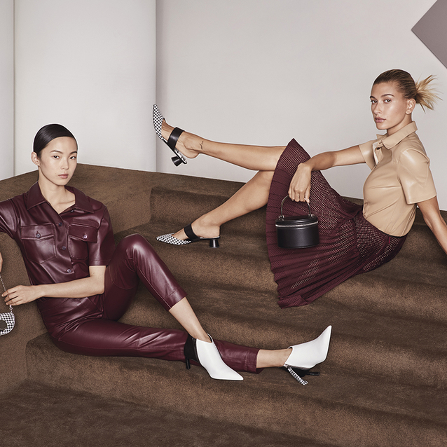Hailey Beiber and Xiao Wen Ju Stun In Their Latest Campaign Together