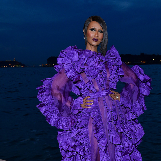 This Somali-American Supermodel Was Honoured With The Third Franca Sozzani Award In Venice Last Night
