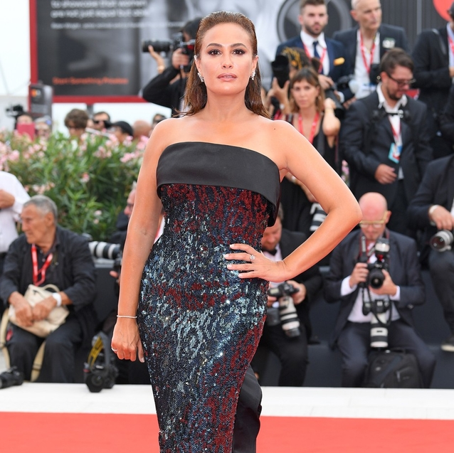 Hend Sabry Stuns On The Venice Film Festival Red Carpet