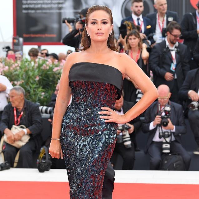 Hend Sabry Stuns On The Venice Film Festival Red Carpet