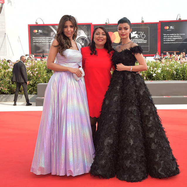 Saudi Haifaa Al-Mansour, One Of Only Two Female Directors At Venice Film Festival, Walks Red Carpet For New Film