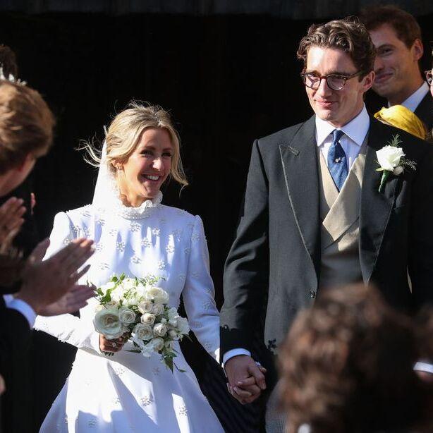 Ellie Goulding Is A Vision In Chloé As She Marries Partner Caspar Jopling
