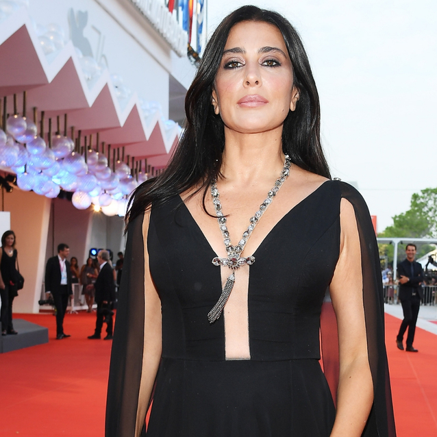Nadine Labaki Stuns On The Venice Film Festival Red Carpet