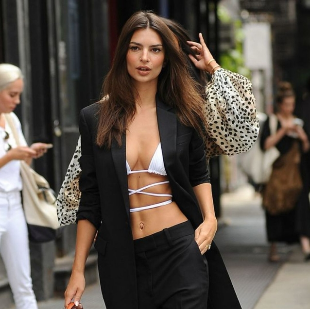 Summer Might Be Over, But Emily Ratajkowski Isn't Ready To Pack Her Bikini Away Just Yet