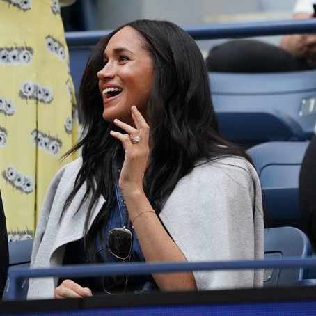 Meghan Markle Makes A Surprise Visit At The US Open To Support Serena Williams