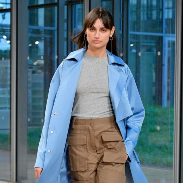Bright Blue Is Trending At New York Fashion Week
