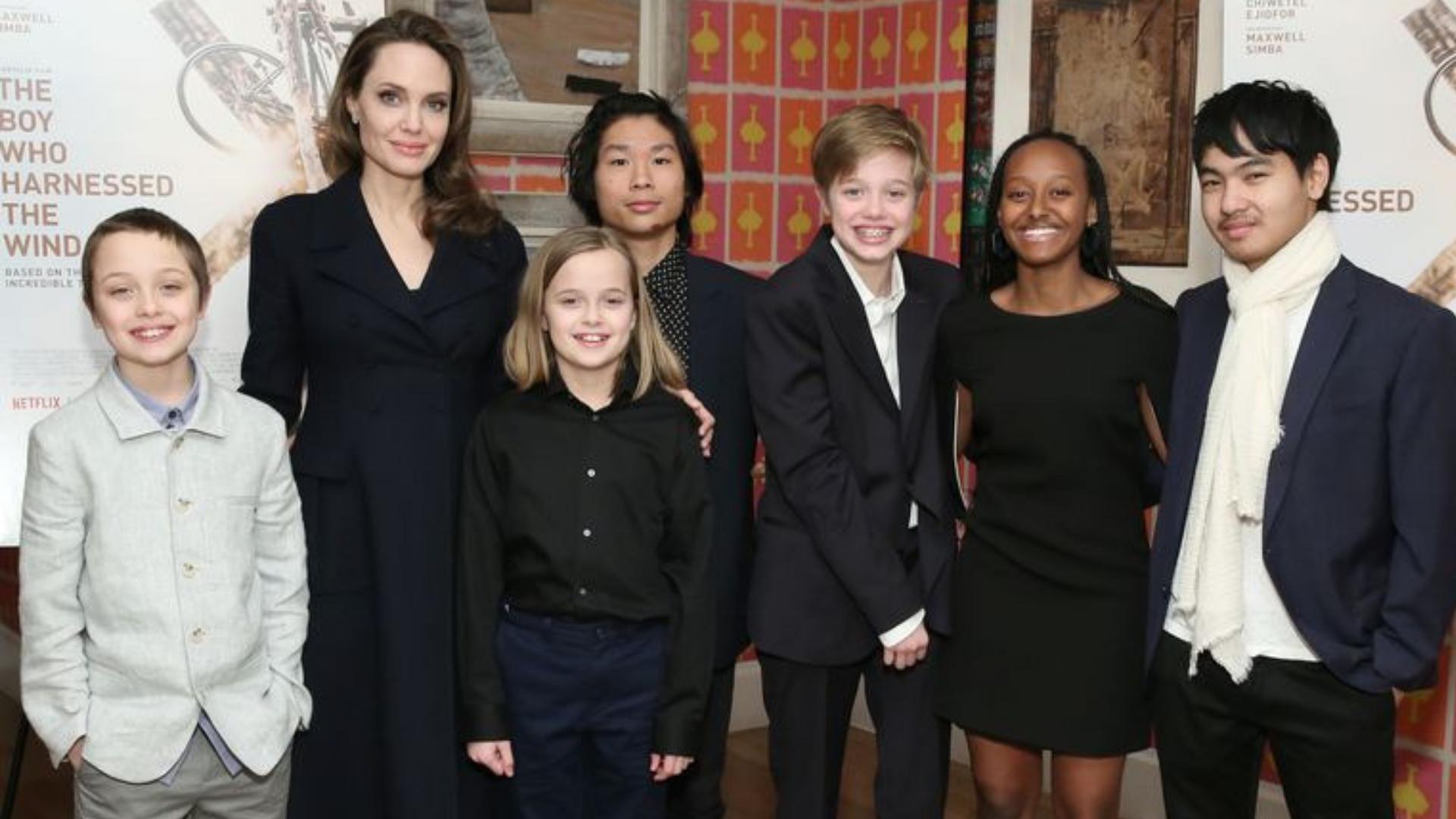 Angelina Jolie Shares Rare Details About Raising Her Teenage Kids