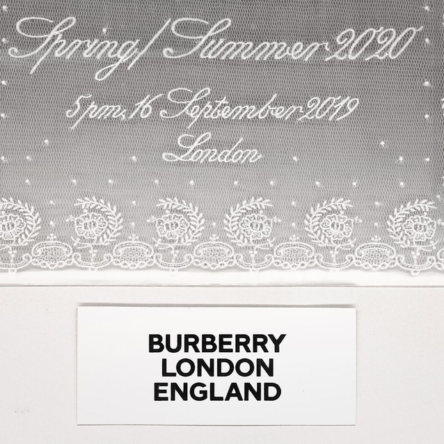 Watch: Live Stream Burberry Spring/Summer 2020