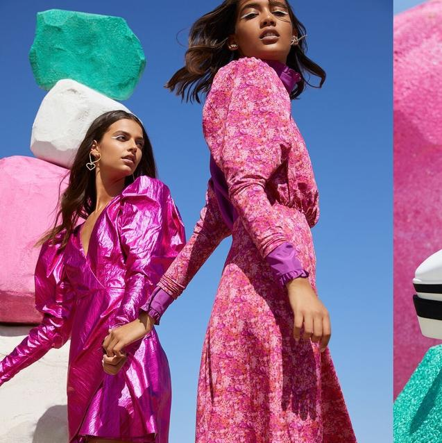 This Dubai Store's New-Season Campaign Is A Kaleidoscopic Dreamscape