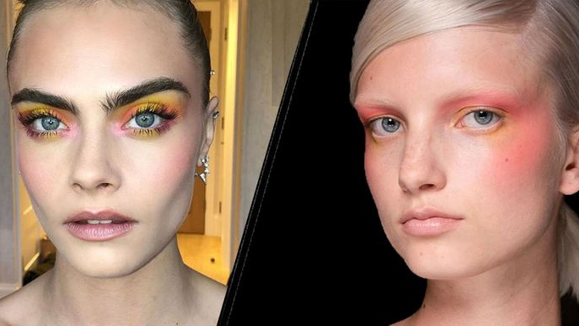 Everyone Is Wearing Coloured Eye Make-Up Right Now