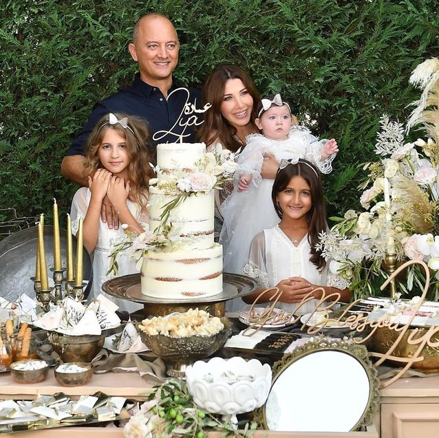Nancy Ajram Shares Rare Family Photo To Celebrate Daughter's Christening