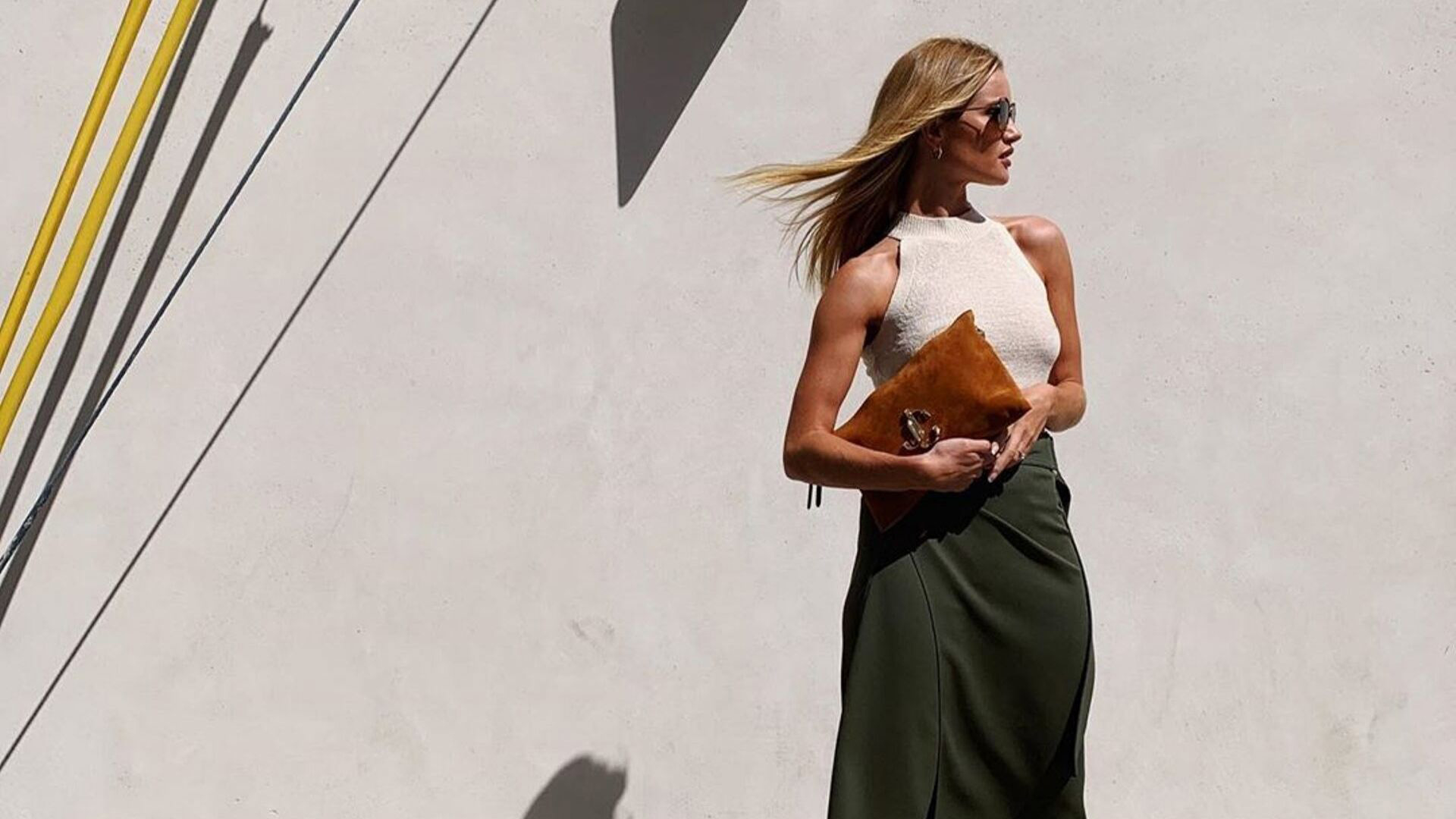 Rosie Huntington-Whiteley Just Wore A Dhs150 Mango Top And We're Obsessed