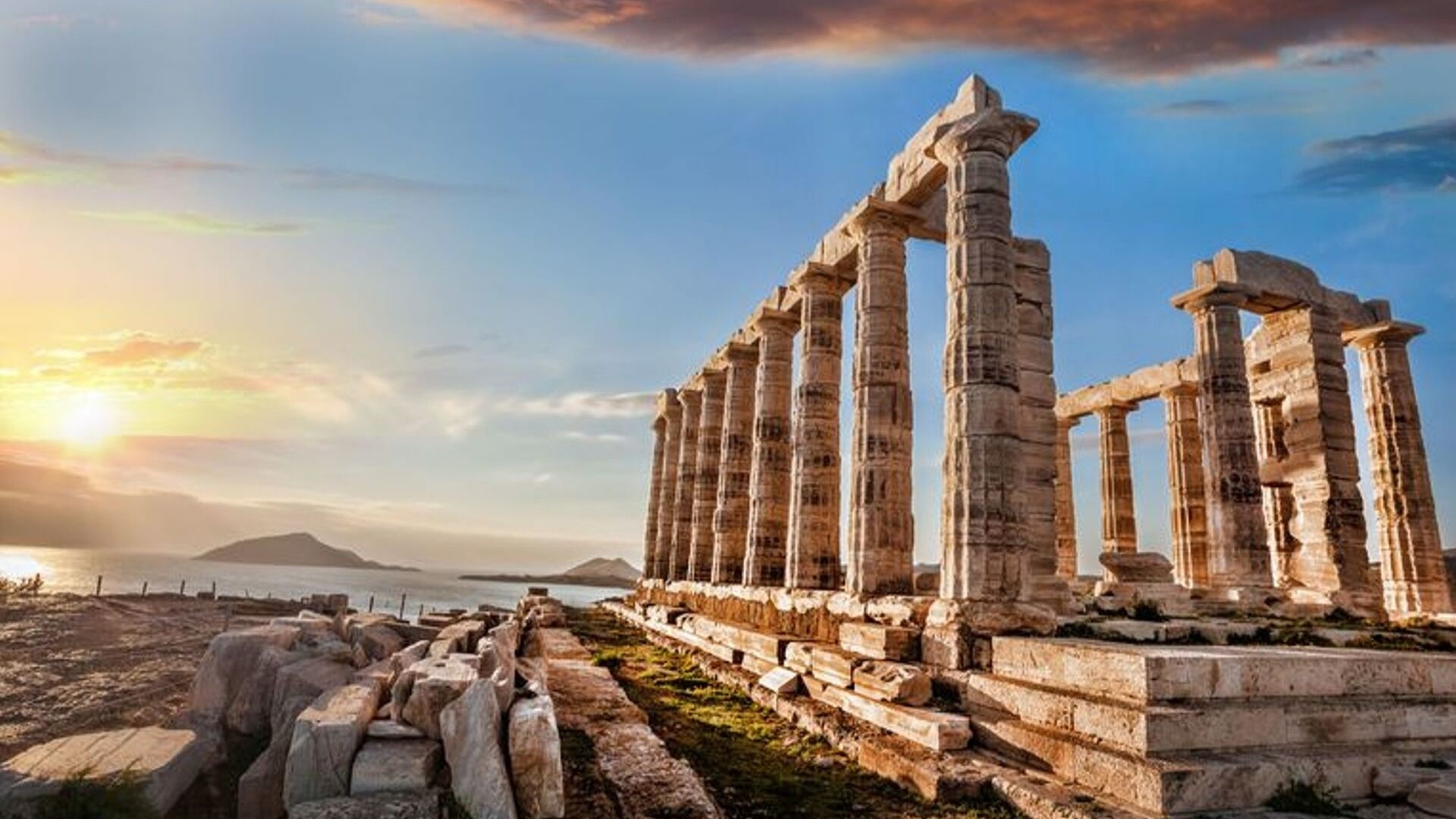 Why Mary Katrantzou Is Bringing Her Catwalk Show To Greece's Temple Of Poseidon