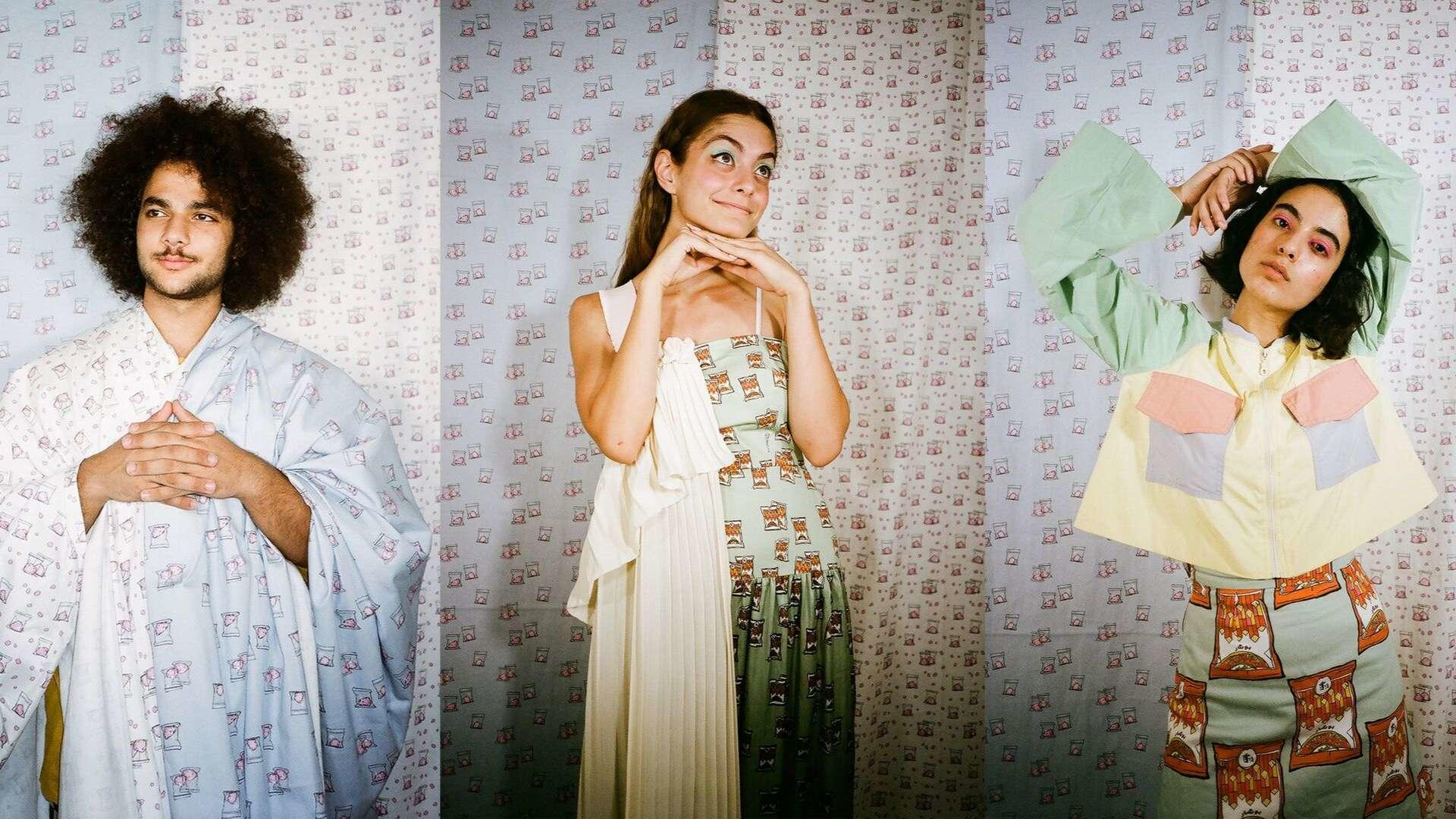 Interview: Tania George's Eye-Catching Designs Will Give You All The '90s Nostalgia