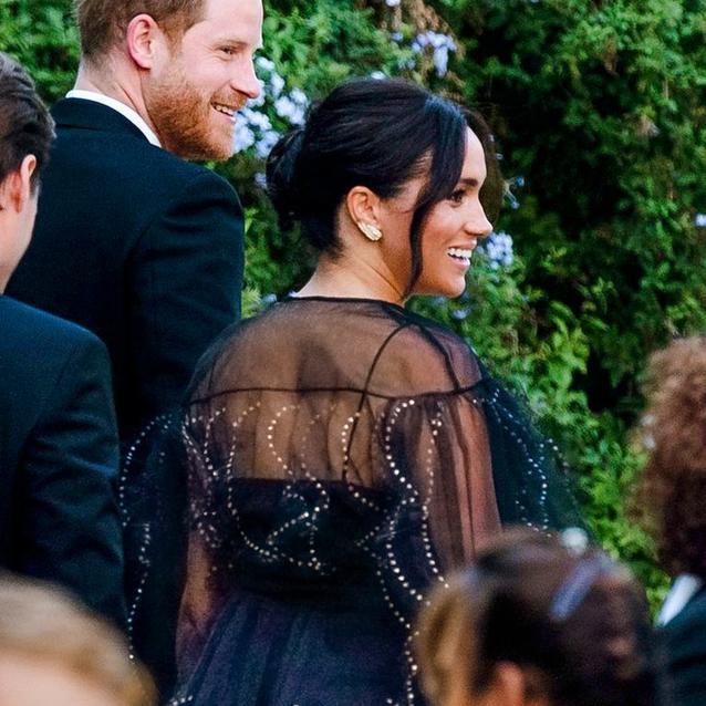 Meghan Markle Chooses A Valentino Number For Misha Nonoo's Wedding