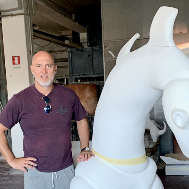 Italian Dubai-Based Artist Antonio Signorini Creates A Sculpture For Wishes