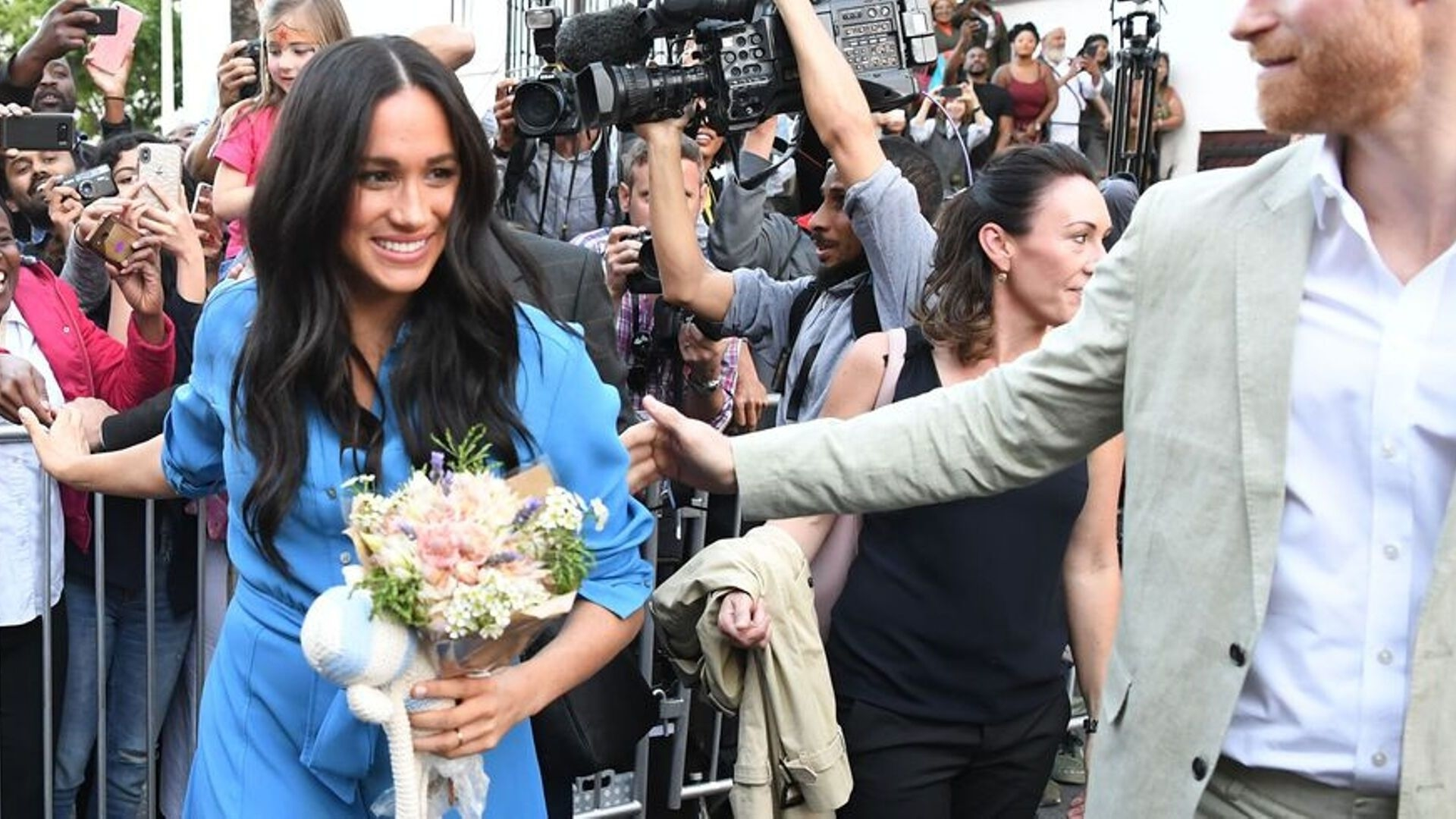 Meghan Markle Holds Back Tears In An Emotional TV Interview