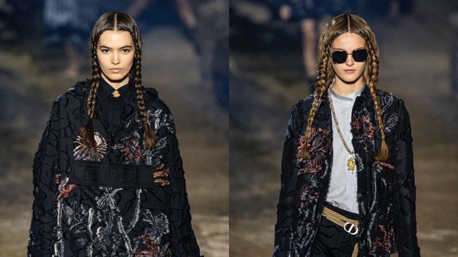 Dior Demonstrates The Easiest Way To Style Your Hair For Spring/Summer