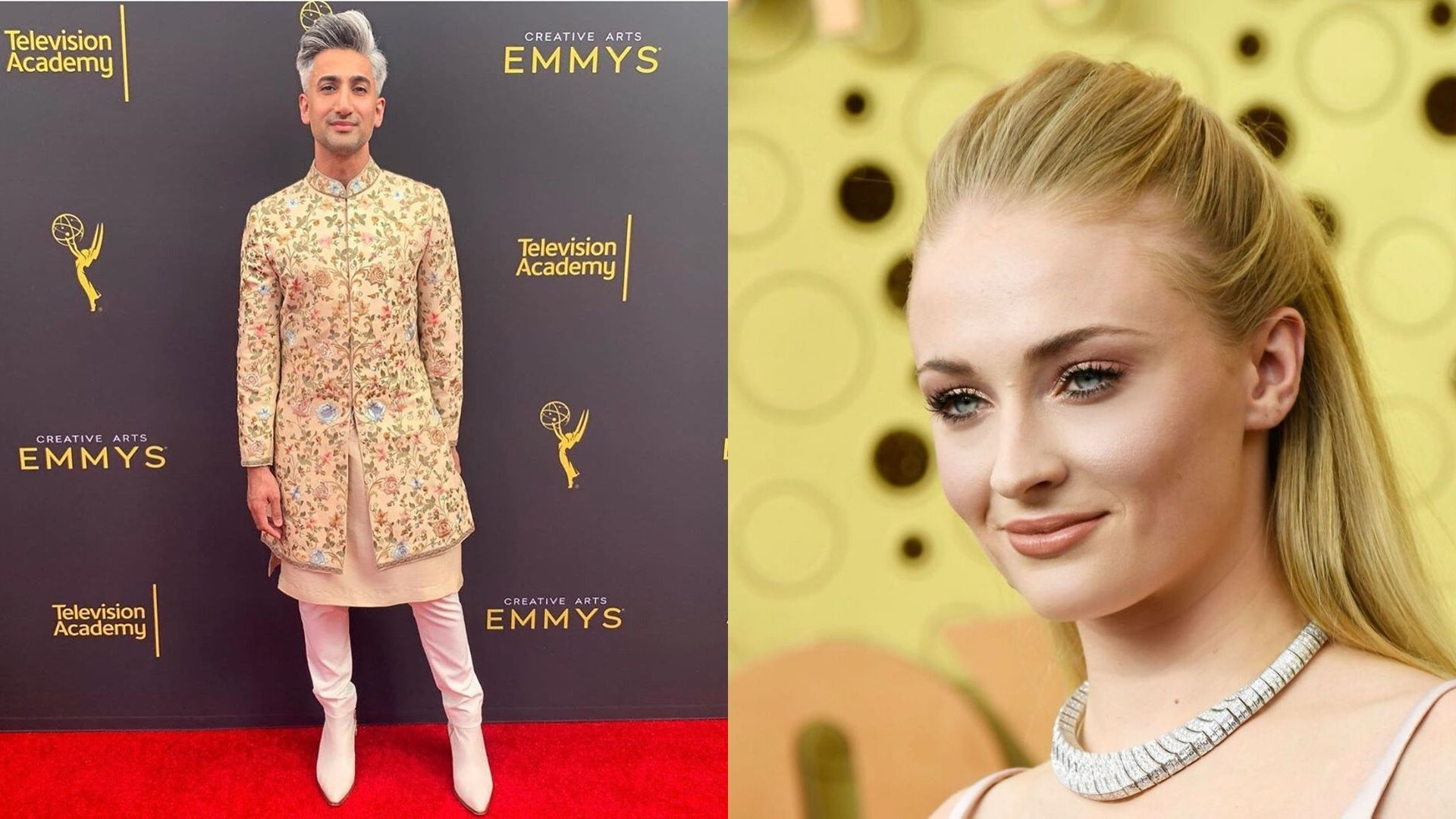 Sophie Turner Suffered A Wardrobe Malfunction Only To Be Rescued By Tan France