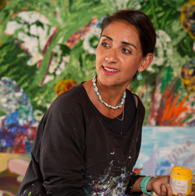 A Tour Of Artist-Collector Noura Ali-Al Ramahi's Abu Dhabi Art-Filled Abode