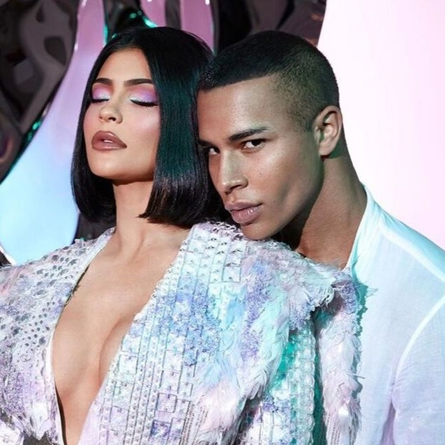 Kylie Jenner Has Just Announced A Makeup Collab With Balmain