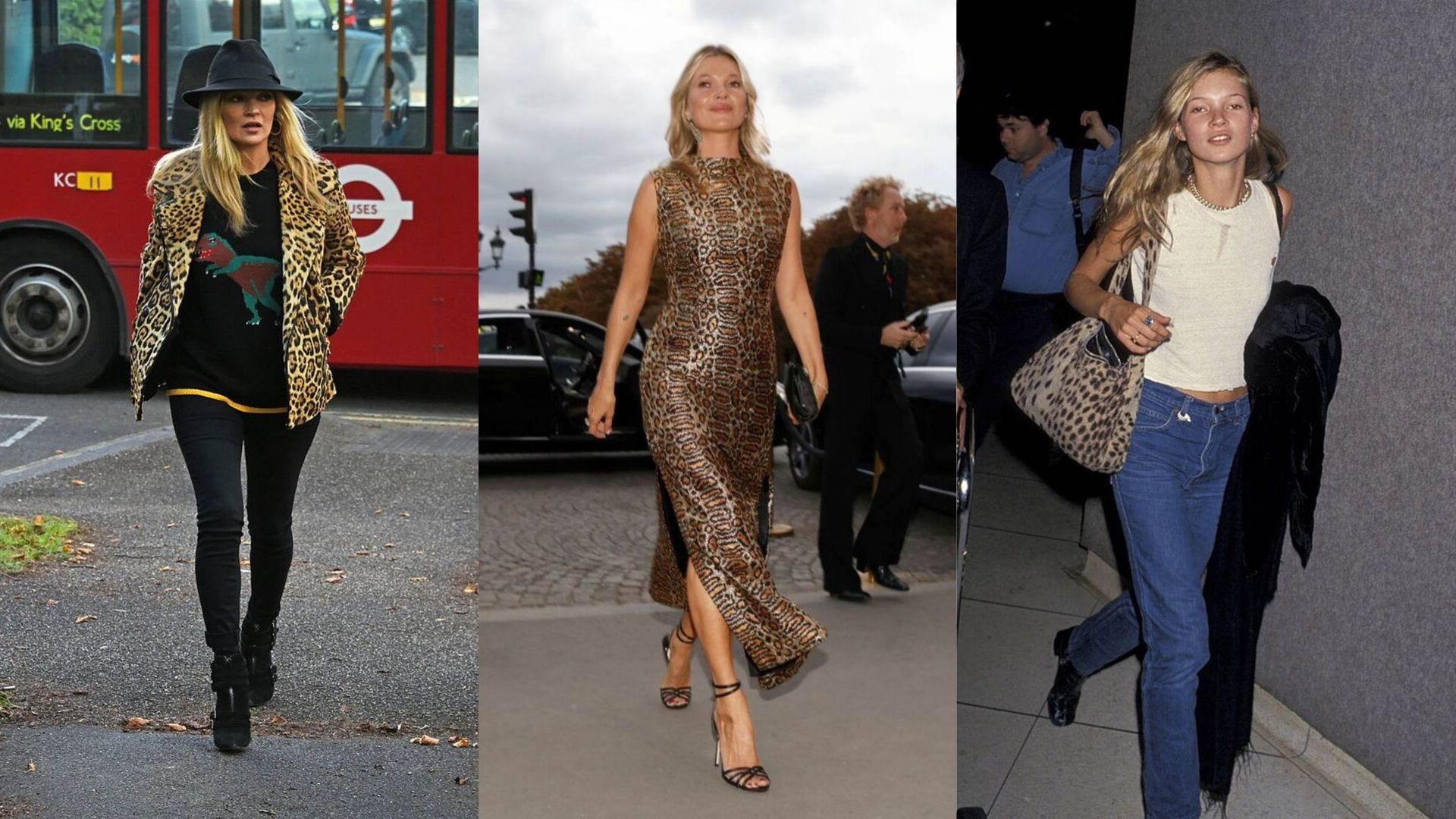 14 Times Kate Moss Proved She's The Queen Of Leopard Print