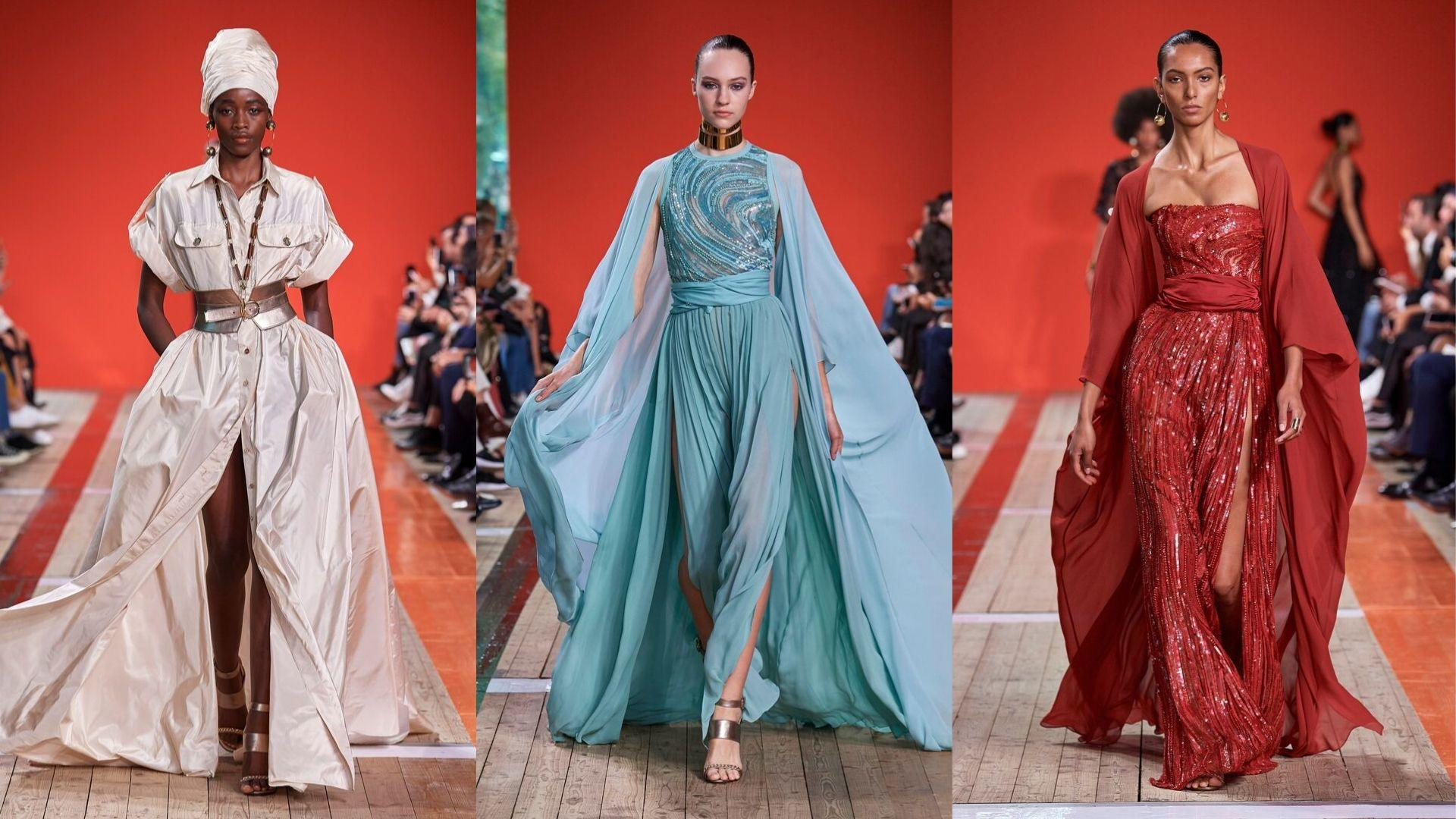 Every Single Look From Elie Saab's S/S20 Show