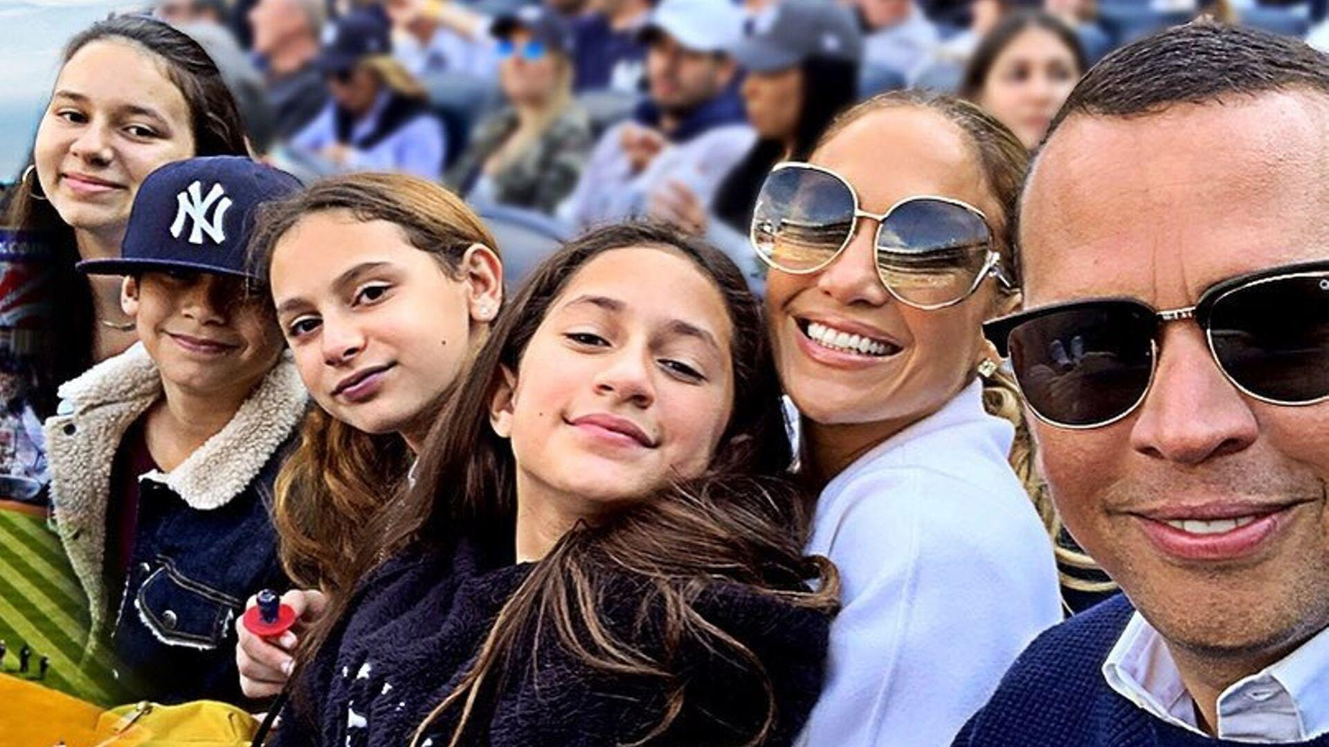 "Jennifer Lopez Says The Twins Would Be ""Thrilled"" If She Had Another Baby With Alex Rodriguez"