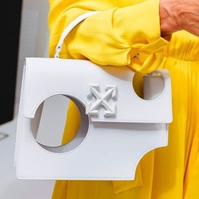 "Off-White's New ""It"" Bag Won't Let You Carry Anything In It"