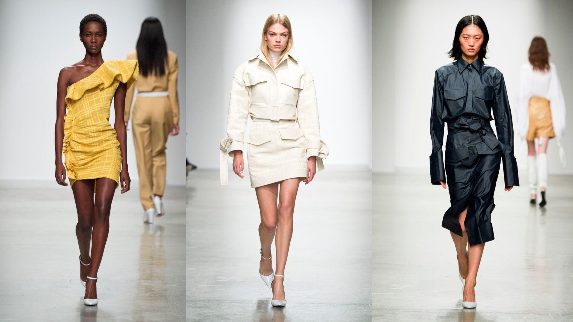 Dubai-Based Designer Kristina Fidelskaya Presents Their S/S20 Show At Paris Fashion Week