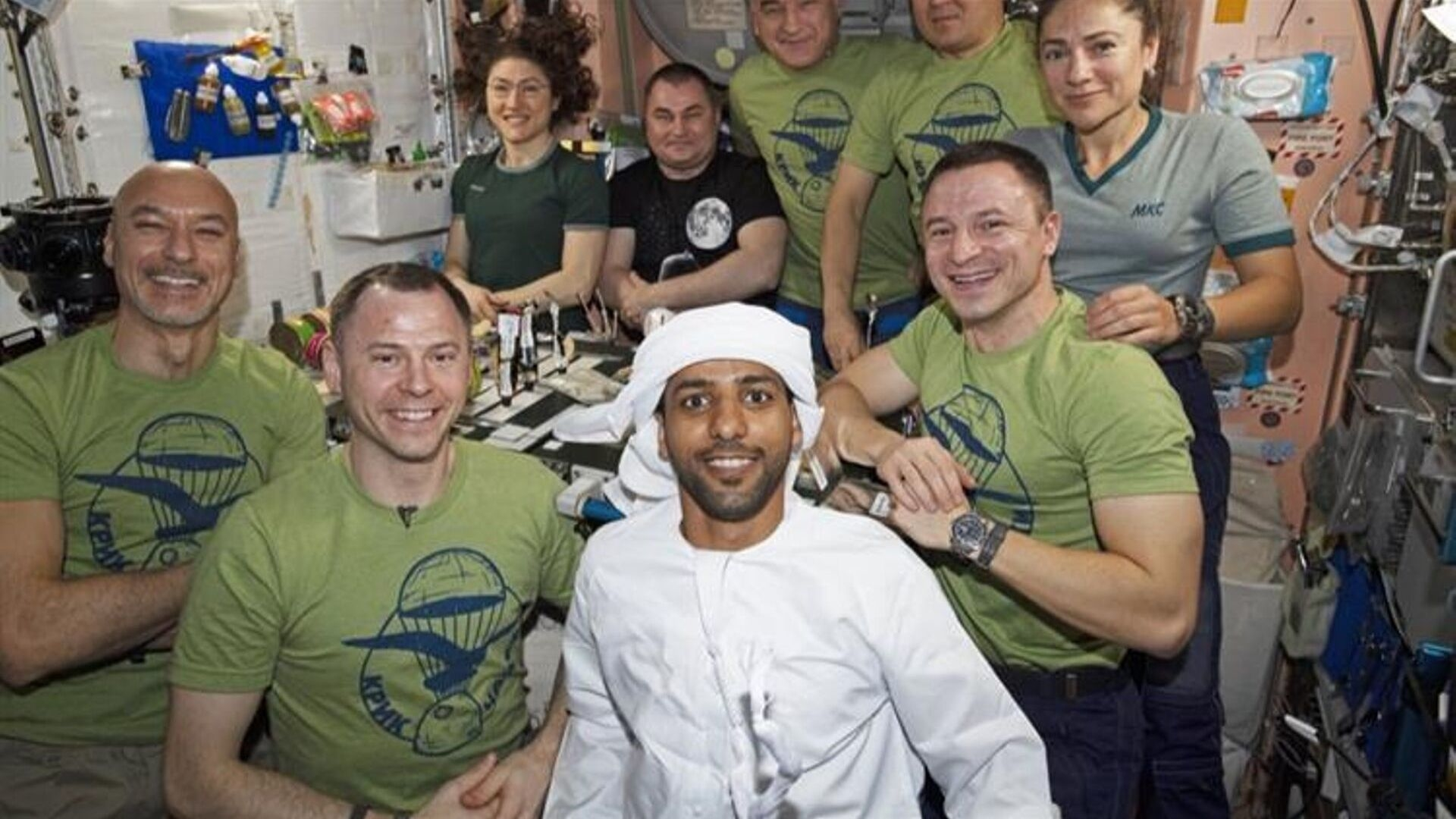 The First Pictures Of Hazzaa Al Mansoori In Space Are Here
