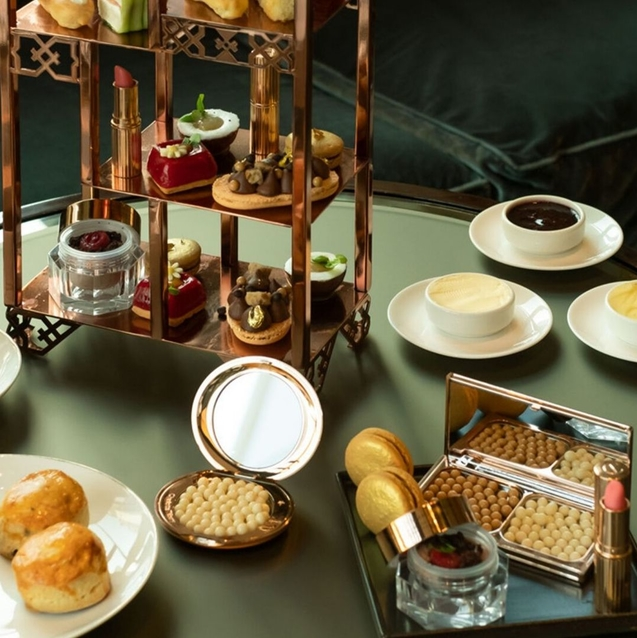 A Charlotte Tilbury Makeup-Inspired Afternoon Tea Has Launched In Dubai