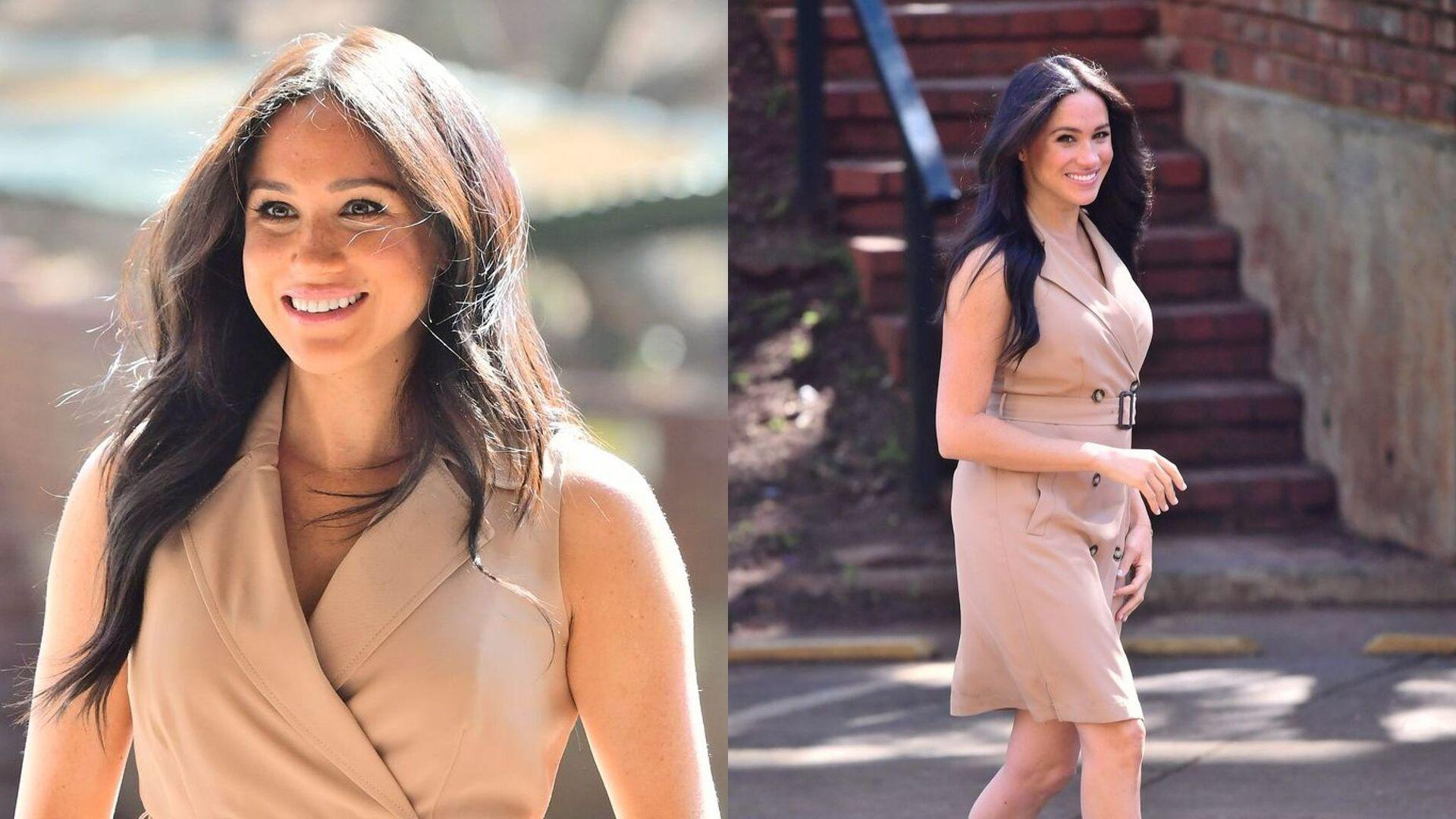 Where You Can Buy Meghan Markle's Dhs559 Trench Dress In Dubai