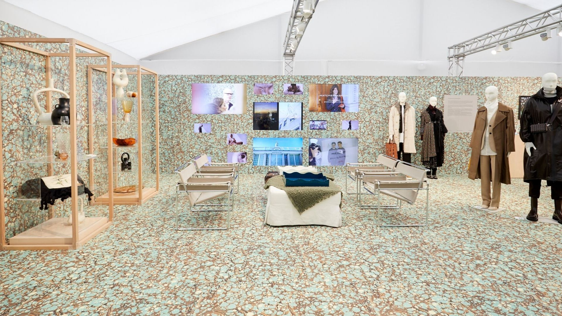 MATCHESFASHION's First Collaboration with Frieze London Marries Fashion, Art, Design and Human Rights