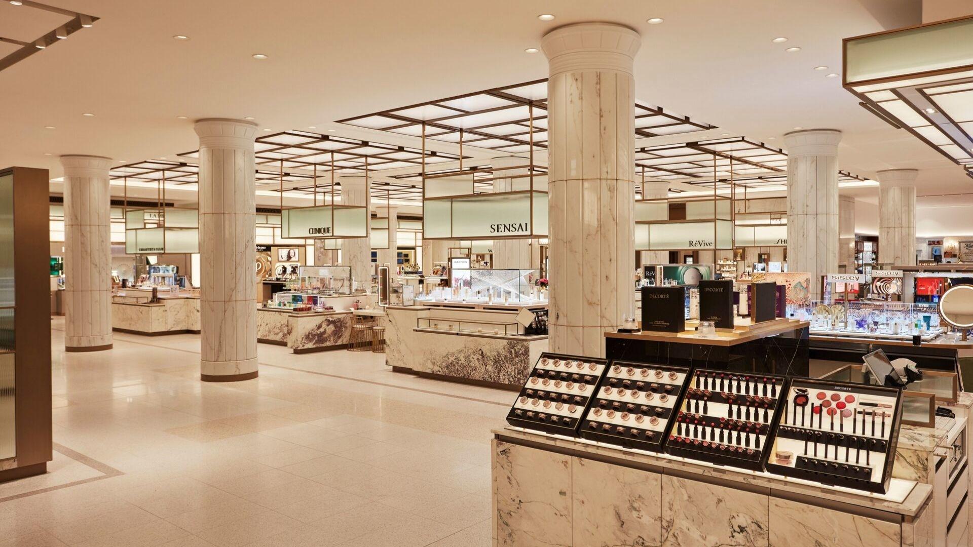 Interview: Inside Harrod's New Beauty Hall Emporium