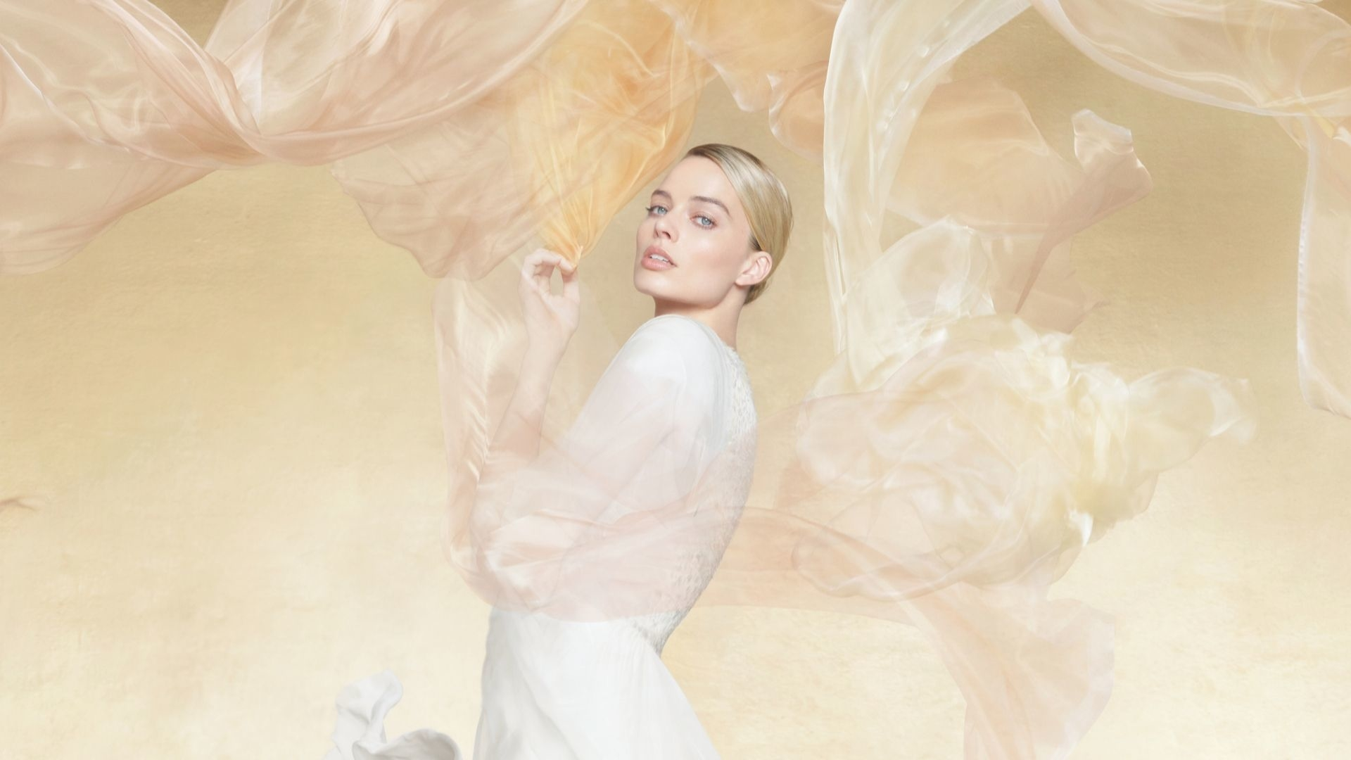 Golden Girl: Margot Robbie On Being The Face Of Chanel's Latest Fragrance