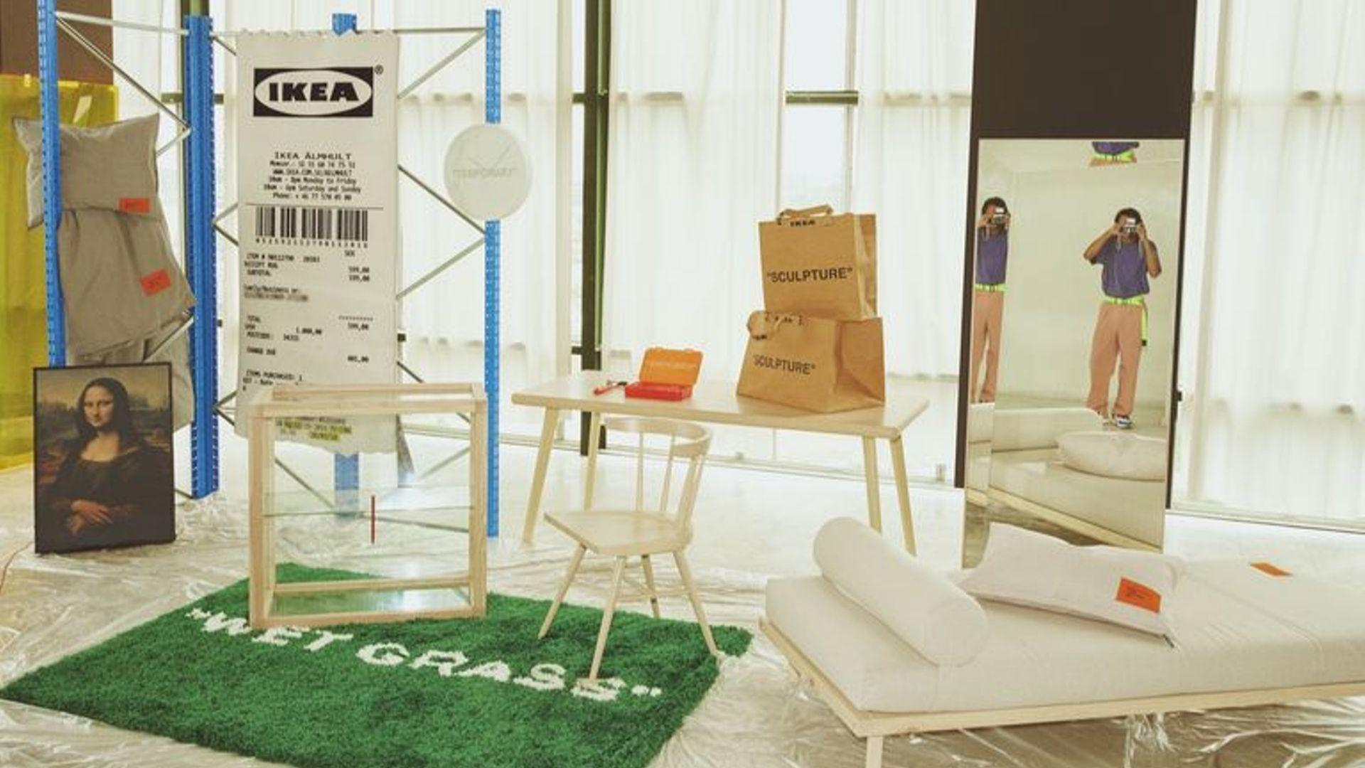Virgil Abloh Launches His Limited Edition Ikea Collection