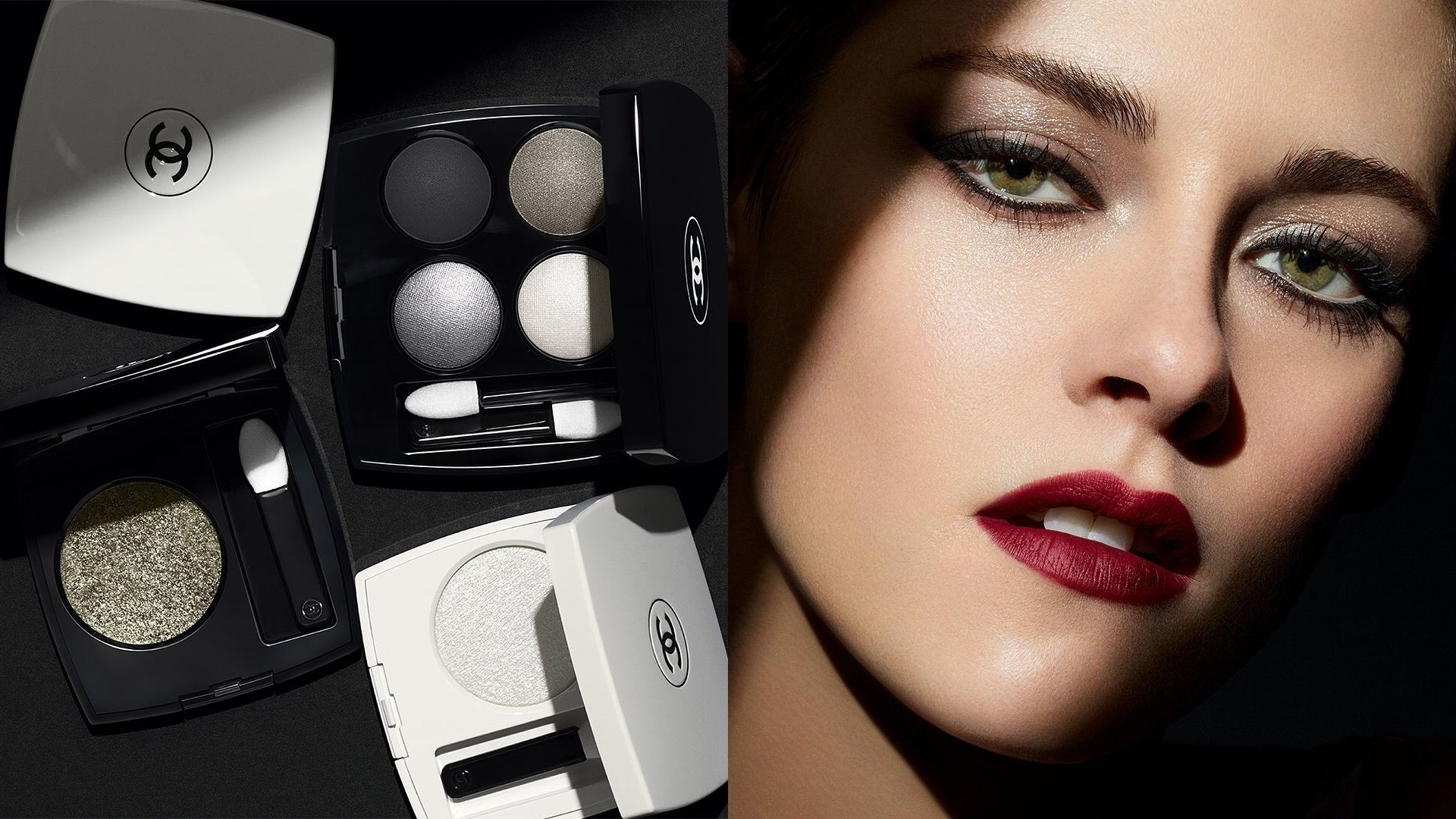 Create The Perfect Smokey Eye With Chanel Beauty's Noir Et Blanc Collection