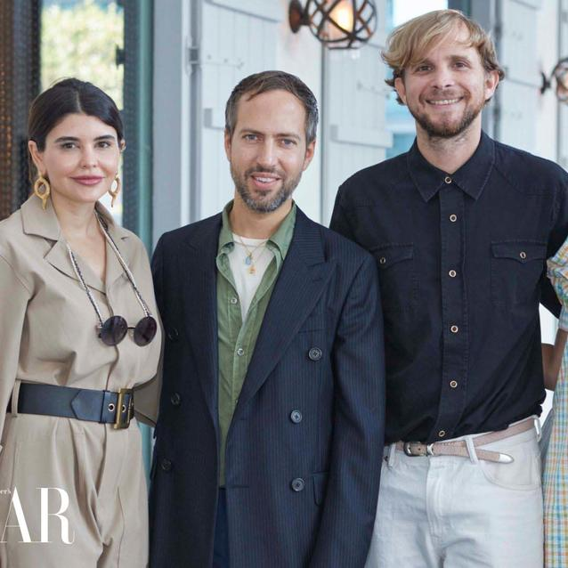Pictures: Inside Our Exclusive Lunch With The Creative Directors Of Peter Pilotto